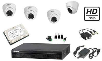 dvr dahua 4 canale, camere video ip, camere megapixel, camere infrarosu